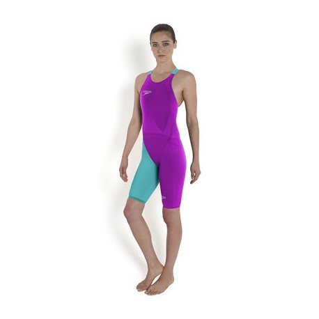 LZR Racer Elite 2 Openback Kneeskin purple/blue